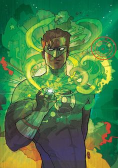 Green Lantern by ~CWARDART