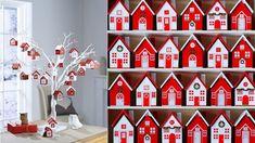 Advent Calendar, Holiday Decor, Gnomes, Advent Calenders