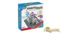 Gravity Maze ThinkFun golyópálya építő logikai játék (GE) Marble Games, Maze, Storage, Purse Storage, Store, Labyrinths, Storage Room