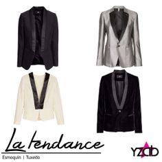 REPORTE #YZAB TENDENCIAS 2014 Prendas clave: Esmoquin Los blazers femeninos adoptan este estilo añadiendo toques satinados a las solapas. Inspírate con más tendencias para 2014 en www.yzab.com.ve #YZAB #ESTETICA #tendencias #EstilismoEspiritual