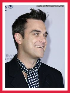 Robbie Williams Hairstyles