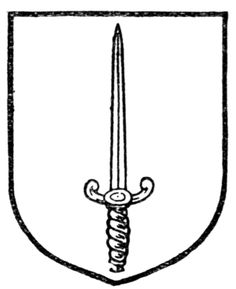 Fig. 515.—Sword. Date 	1909 Source 	A Complete Guide to Heraldry. Author 	 [show]Arthur Charles Fox-Davies oktous