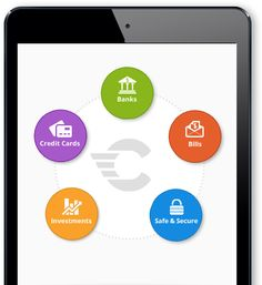 Check App formerly Pageonce.  Love this app!  A must have for looking at your finances all in one place.