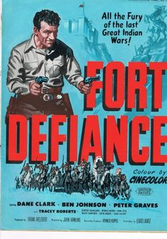 """""""Fort Defiance"""" 1951 Western Film 