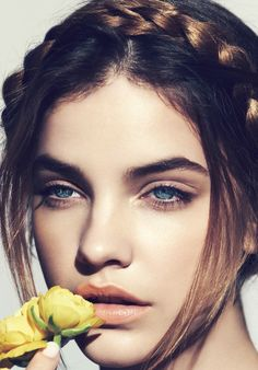 barbara palvin beauty photos4 Floral Flush: Barbara Palvin Wows in Spring Looks for Marie Claire France