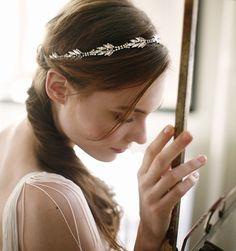Diamond Leaves Headwrap - Circlets