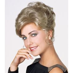 Amore Wig- PRE-STYLED UPDO. . . Youve got the dress, youve got the date, youve got the hair.  Youre ready for the party!  Youll own the night without the effort in this prestyled updo treasure. Find this style & more @ thewigcompany.com