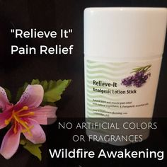 Relieve-It Aromatherapy Lotion Stick, relief for arthritis, muscle and joint pain, workout, sore muscles, back knee pain
