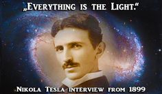 """No empty space on this planet, nor in the Universe...In black holes, what astronomers talk about, are the most powerful sources of energy and life..."" ―Nikola Tesla"