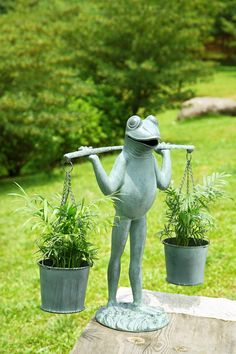 831 Best Frog Garden Statues Images Cute
