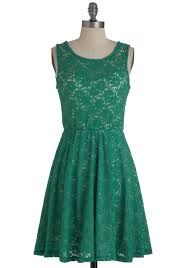 green-blue vintage dress