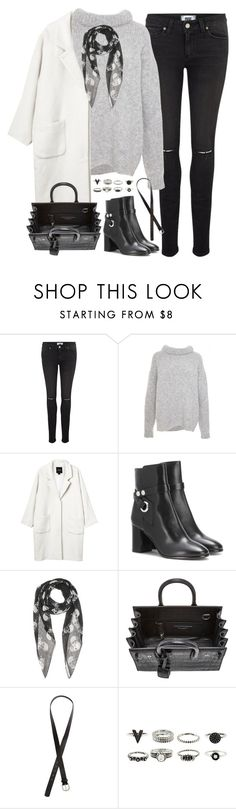 """Untitled#4196"" by fashionnfacts ❤ liked on Polyvore featuring Paige Denim, TIBI, Monki, Isabel Marant, Yves Saint Laurent and H&M"