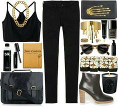 #style #fall2013 #inspiration #screamsirens #black #fashion