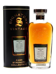 Mortlach 1990 / 23 Year Old / Sherry Cask #6074 / Signatory [Single Malt Scotch Whisky]