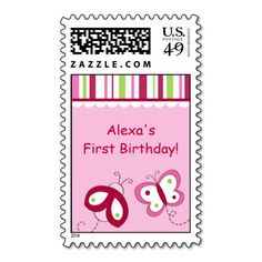 Add stamps to all your different types of stationery! Find rubber stamps and self-inking stamps at Zazzle today! Garden Baby Showers, Self Inking Stamps, Postage Stamps, Ladybug, First Birthdays, Berry, Stationery, Butterfly, Lady Bug