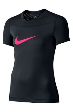 Nike 'Pro Hypercool' Dri-FIT Tee (Big Girls)