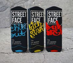 Street Face (Student Project) on Packaging of the World - Creative Package Design Gallery
