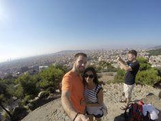 Park Guell--Barcelona, Spain