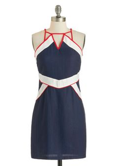 Passport of Call Dress - Modcloth (I'm a sucker for anything with a 20's ish nautical theme!)