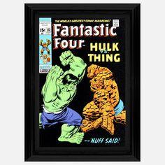 Hulk vs The Thing | Limited-Edition Comic Book Prints