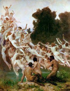 William Bouguereau - The Oreads [1902]