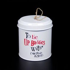 The Bright Side String Tin - Tie up baddies with £7.50
