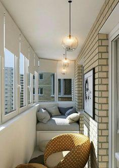 Examples for Small Balcony Decoration, . - Phoebe Home Apartment Balcony Decorating, Apartment Balconies, Cool Apartments, Apartment Interior, Apartment Ideas, Small Balcony Decor, Balcony Ideas, Modern Balcony, Tiny Balcony