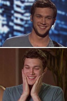 I just love this guy, and I voted for him..Phillip Phillips