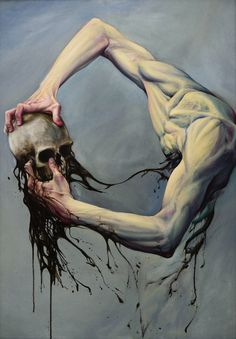 Milan Nenezic 'Adam' oil on canvas
