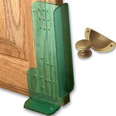 Cabinet Handle Template