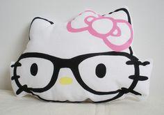 Hello Kitty nerd pillow