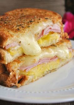 cook this meals: Hawaiian Grilled Cheese