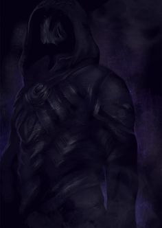 Nightingale Armor - This pic is really dark...like my soul in Skyrim....