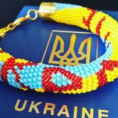 32 отметок «Нравится», 2 комментариев — Yelyzaveta Kibkalo (@aksesuarlarhandmade) в Instagram: «Ukraine! !!!!! We can make flag of your country.  Браслет с флагом вашей страны на заказ 3-5 дней.…»