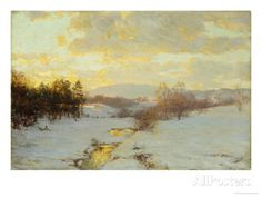 Twilight Giclee Print by Walter Launt Palmer at AllPosters.com