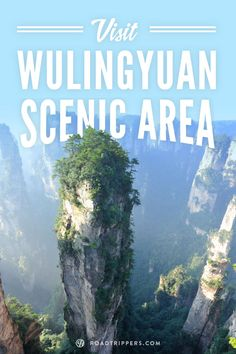The amazing Wulingyuan Scenic Area is the site of over 3,000 strange, narrow sandstone pillars that jut up into the sky over 200 meters high.