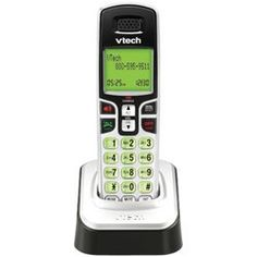 Vtech DECT 6.0 Accessory Handset for CS6219, CS6219-2, CS6228-3, CS6228-6, CS6229, CS6229-2, CS6229-3, CS6229-4 and CS6229-5 only. by VTech. $29.99. ***Please Note***: This model can be used with the CS6219, CS6219-2, CS6228-3, CS6228-6, CS6229, CS6229-2, CS6229-3, CS6229-4 and CS6229-5 only.  Features:  DECT 6.0 Digital technology provides the best sound quality, security and range in cordless phones Accessory handset only-requires the base unit to operate; no phone jack...