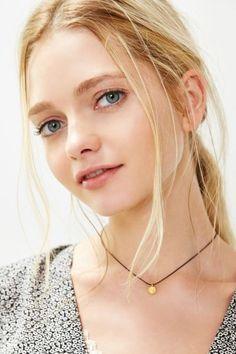 Mini Tag Short Necklace