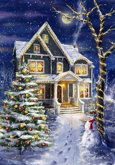 DIY Diamond Painting Needlework Full round Diamond embroidery Christmas scenery Pattern home Decoration mosaic Painting Icon
