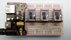 ESP8266 Web Server Farm pinned by emancipated squirrel
