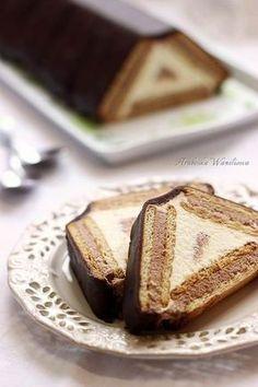 Polish Desserts, No Bake Desserts, Delicious Desserts, Dessert Recipes, Yummy Food, Baby Food Recipes, Sweet Recipes, Cookie Recipes, Banana Pudding Recipes