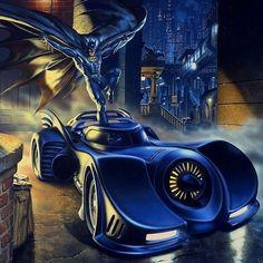 Mark Stutzman Batman art for OnStar  - Batman Art - Fashionable and trending Batman Art #batman #artofbatman -  Mark Stutzman Batman art for OnStar