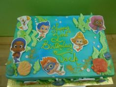 Bubble Guppy Sheet Cake