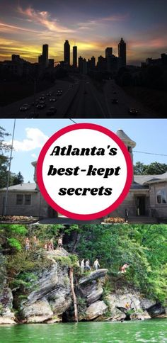 Planning to visit Atlanta and want to find some secret places without looking hard? Keep reading- here are the best-hidden gems in Atlanta! Visit Atlanta, Atlanta Travel, Atlanta Georgia, Atlanta Food, Canada Travel, Travel Usa, Travel Tips, Travel Ideas, Travel Articles