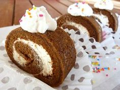 My home ...: Κορμός σοκολάτας με γέμιση κρέμα !! Cake Cookies, Cupcake Cakes, Cupcakes, The Kitchen Food Network, Cake Roll Recipes, Like Chocolate, Sweet Life, Food Network Recipes, Vanilla Cake