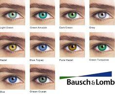 Optima Natural Look - Lentes de Contato Bausch & Lomb Tinted Contact Lenses, Contact Lenses For Brown Eyes, Natural Contact Lenses, Coloured Contact Lenses, Natural Color Contacts, Best Colored Contacts, Eye Color Chart, Lenses Eye, Corte Y Color