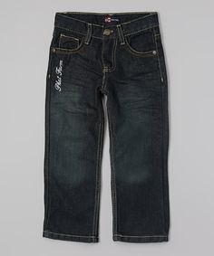 Look at this Phat Farm Dark Indigo Jeans - Toddler & Boys on #zulily today!