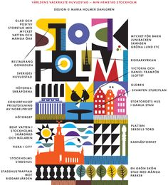 Maria Holmer Dahlgren / Stockholm / Illustration / nordic scandinavian design