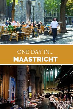 One day in Maastricht, The Netherlands. Go and check out Maastricht. You will only need one day to check out the highlights of the city. Visit Amsterdam, Amsterdam City, Eindhoven, Lloyd Hotel Amsterdam, Holland, European Vacation, Grand Tour, To Infinity And Beyond, Romantic Travel