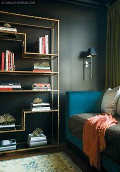 Brass Etagere IKEA Hack - Little Green Notebook